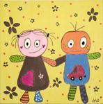 Karla og Buster